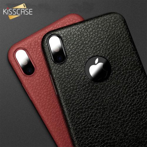 KISSCASE ультратонкий силиконовый чехол под кожу для всех моделей iPhone (айфон)