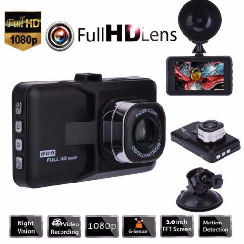 ENKLOV Full HD 1080P автомобильный видеорегистратор камера ночного видения