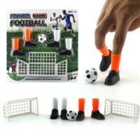 Набор для игры пальцами в мини-футбол (ворота, мяч, насадки на пальцы в виде бутсов)