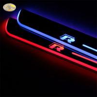 LED накладки на пороги с подсветкой Volkswagen VW Passat
