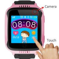 MOCRUX Q528 Smart Watch детские умные Bluetooth смарт часы с функцией SOS, GPS, фонариком