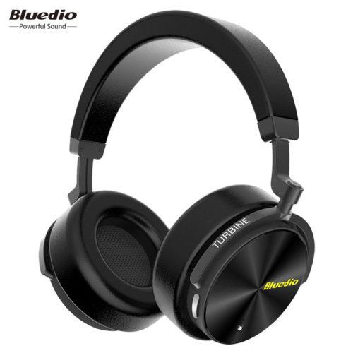 Bluedio T5 Беспроводные накладные Bluetooth наушники гарнитура с микрофоном для компьютера и телефона