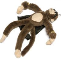 Рогатка плюшевая летающая обезьянка