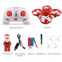 Eachine E011C Flying Santa Claus Drone Летающий дрон Санта Клаус