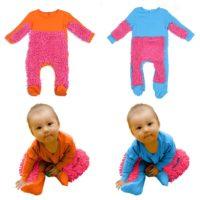 Ползунки-швабра для новорожденных детей