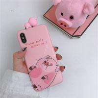 Чехол на айфон iPhone с Пухлей свиньей из Гравити Фолз (Gravity Falls)