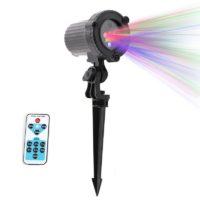 RGB Водонепроницаемый лазерный проектор для украшения дома
