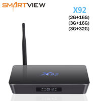 VONTAR X92 ТВ смарт приставка TV Box Amlogic S912 X92 2GB+16GB / 3GB+16GB / 3GB+32GB Android 7.1 Wifi 4K