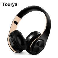 Tourya B7 Беспроводные складные Bluetooth наушники гарнитура