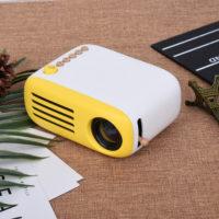 Аао YG200 Мини светодиодный карманный проектор