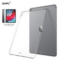 Прозрачный тонкий силиконовый мягкий TPU чехол для iPad Pro
