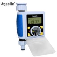 Aqualin Электронный клапан подачи воды для организации автоматического полива на даче