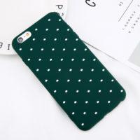 USLION мягкий силиконовый чехол в горошек для всех моделей iPhone (айфон)