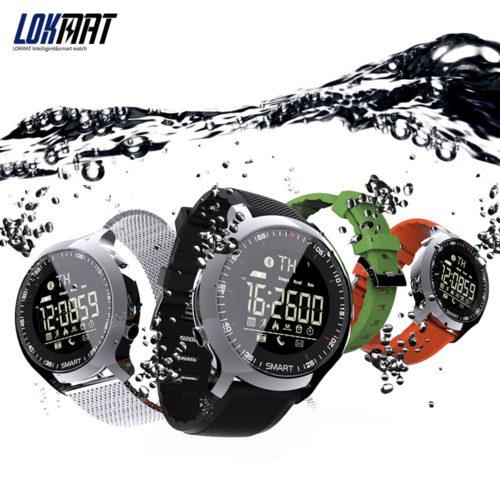 LOKMAT Smart Watch Sport Умные спортивные Bluetooth смарт часы