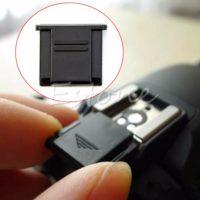 Защитная заглушка на горячий башмак фотокамер Nikon / Canon