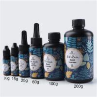 UV resin hard Прозрачный гель УФ-смола (затвердевает под ультрафиолетовой лампой) 25/60/100/200 г