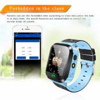 Детские смарт часы с сенсорным экраном, кнопкой SOS, небольшим фонариком