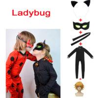 Детские косплей костюмы супергероев Леди Баг и Супер-Кот