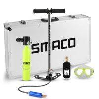 Smaco набор для дайвинга (баллон, насос, очки)