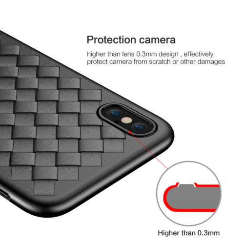 FLOVEME мягкий дышащий чехол с плетеным сетчатым узором на айфон iPhone