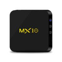 MX10 медиаплеер смарт тв-приставка к телевизору Smart TV BOX Android 8.1 4K USB 3.0 HDR