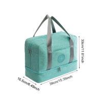 Дорожная сумка с отделением для обуви