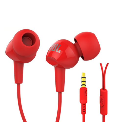 JBL C100SI Вакуумные шумоподавляющие наушники-затычки гарнитура с микрофоном