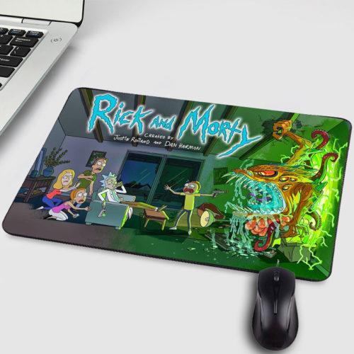 Коврик для компьютерной мыши Рик и Морти (Rick and Morty)