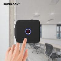 Sherlock Smart Lock Glass Door Lock Fingerprint умный замок с отпечатком пальца и дистанционным управлением
