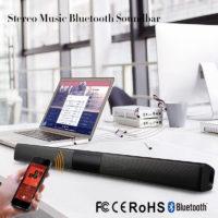 Беспроводная Bluetooth колонка саундбар динамик акустика звуковая панель для телевизора, проектора, компьютера