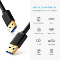 Кабель Ugreen USB к USB 2.0/3.0