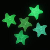 Силиконовая светящаяся Морская звезда наклейка на стену, светящаяся в темноте