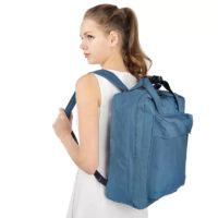 Большая нейлоновая водонепроницаемая дорожная сумка-рюкзак