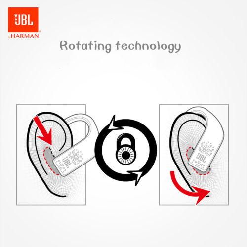 JBL GRIP 500 Беспроводные спортивные Bluetooth наушники на шею с микрофоном с защитой от пота