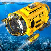 Подводная RC лодка на дистанционном управлении до 4 м под водой