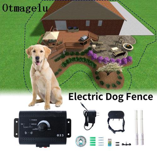 Невидимый электрический забор для собак