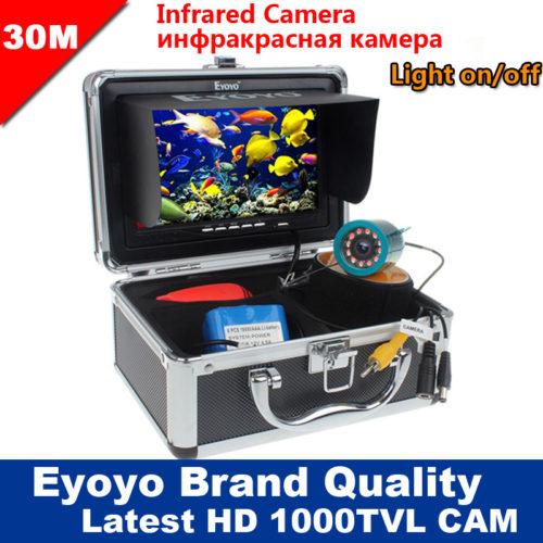Eyoyo 1000TVL 30м подводная инфракрасная камера для рыбалки