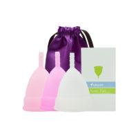Многоразовая силиконовая гигиеническая менструальная чаша для женщин