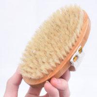 Щетка из натурального бамбука для тела