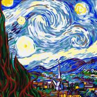 Товары со Звездной ночью Ван Гога на Алиэкспресс - место 3 - фото 1