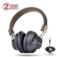 Avantree BTHS AS9P BLK беспроводные накладные Bluetooth наушники гарнитура с микрофоном