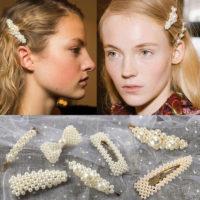 Заколки и невидимки для волос с жемчугом