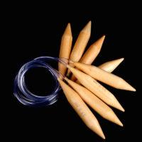 Круговые спицы для вязания толстой пряжи 15-25 мм