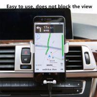 EMIUP Универсальный держатель для телефона в автомобиль на вентиляционную решетку