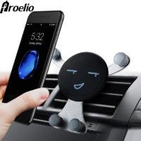 Proelio Универсальный держатель со смайликом или пандой для телефона в автомобиль на вентиляционную решетку