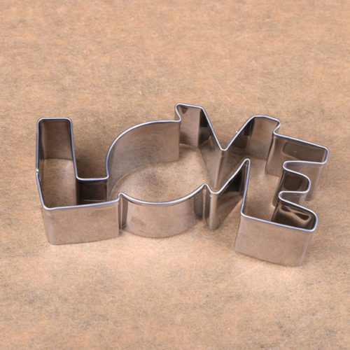 Вырубка форма для печенья из нержавеющей стали Love