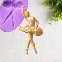 Силиконовый молд форма Балерина