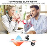 GUSGU Беспроводные Bluetooth наушники V5.0