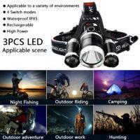 Популярные налобные фонари на Алиэкспресс - место 5 - фото 3