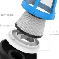 Xiaomi Cleanfly FVQ car portable vacuum cleaner Ручной портативный автомобильный пылесос